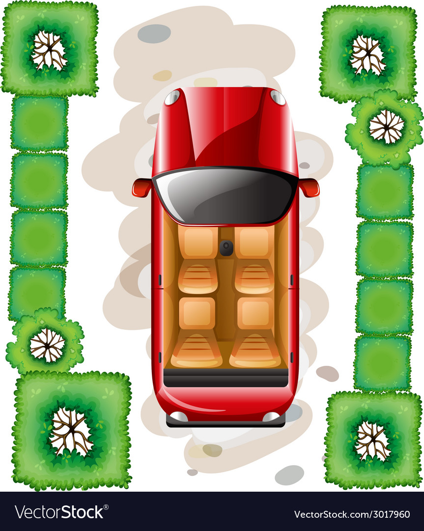 Car parking vector | Price: 1 Credit (USD $1)