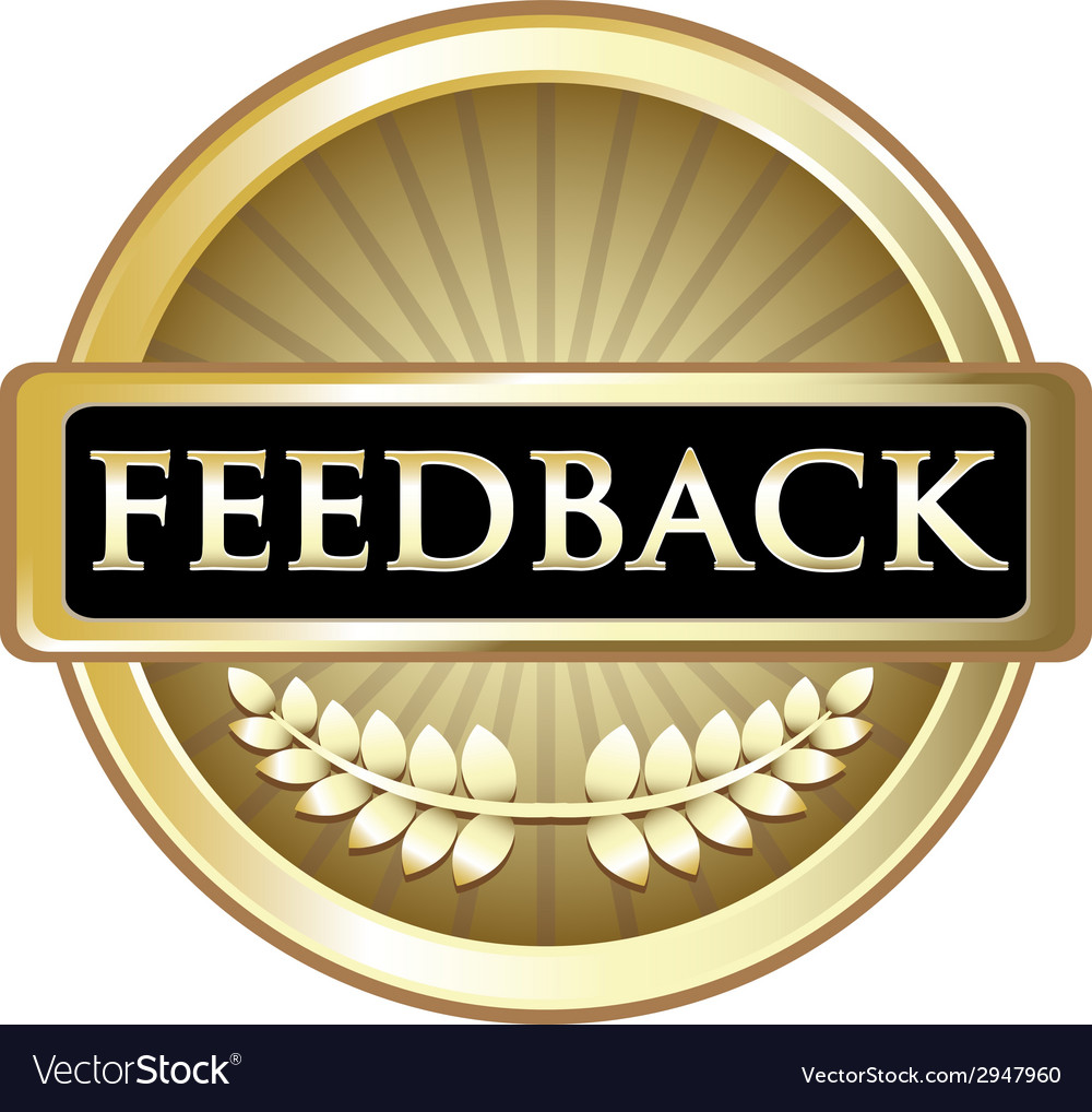 Feedback gold label vector | Price: 1 Credit (USD $1)