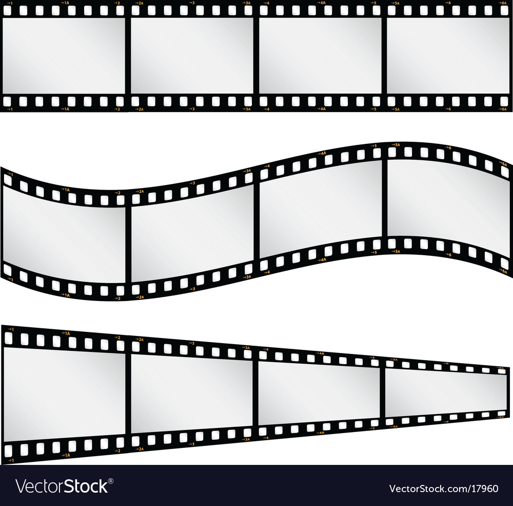 Filmstrips vector | Price: 1 Credit (USD $1)