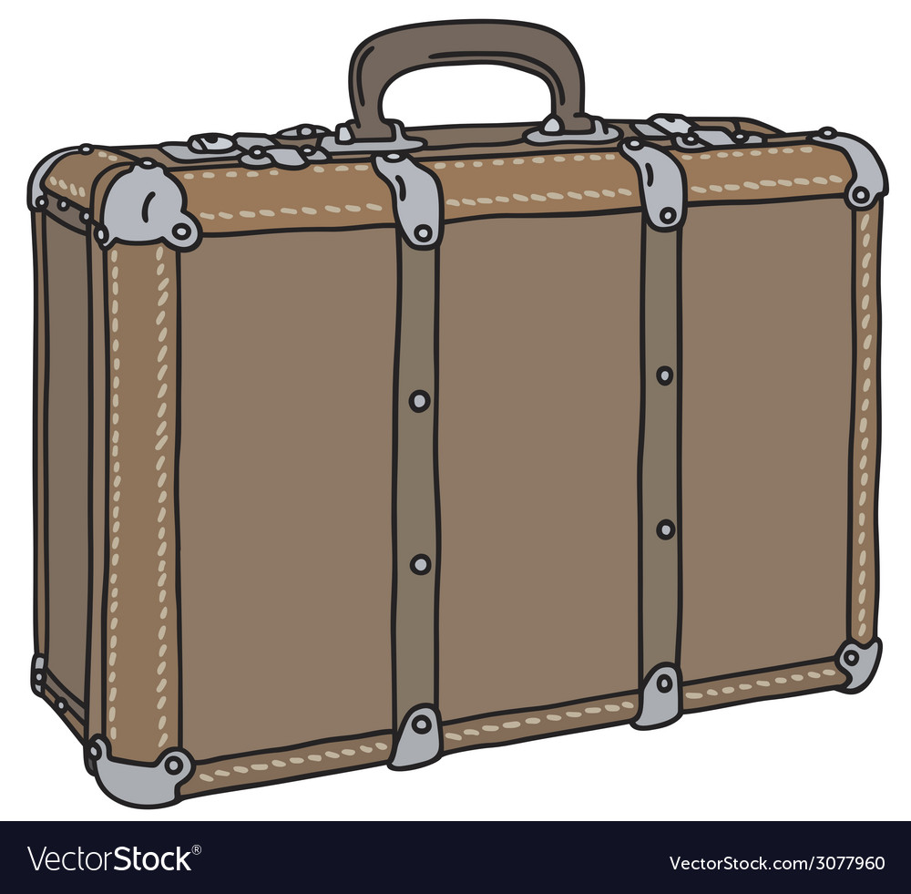 Old suitcase vector | Price: 1 Credit (USD $1)