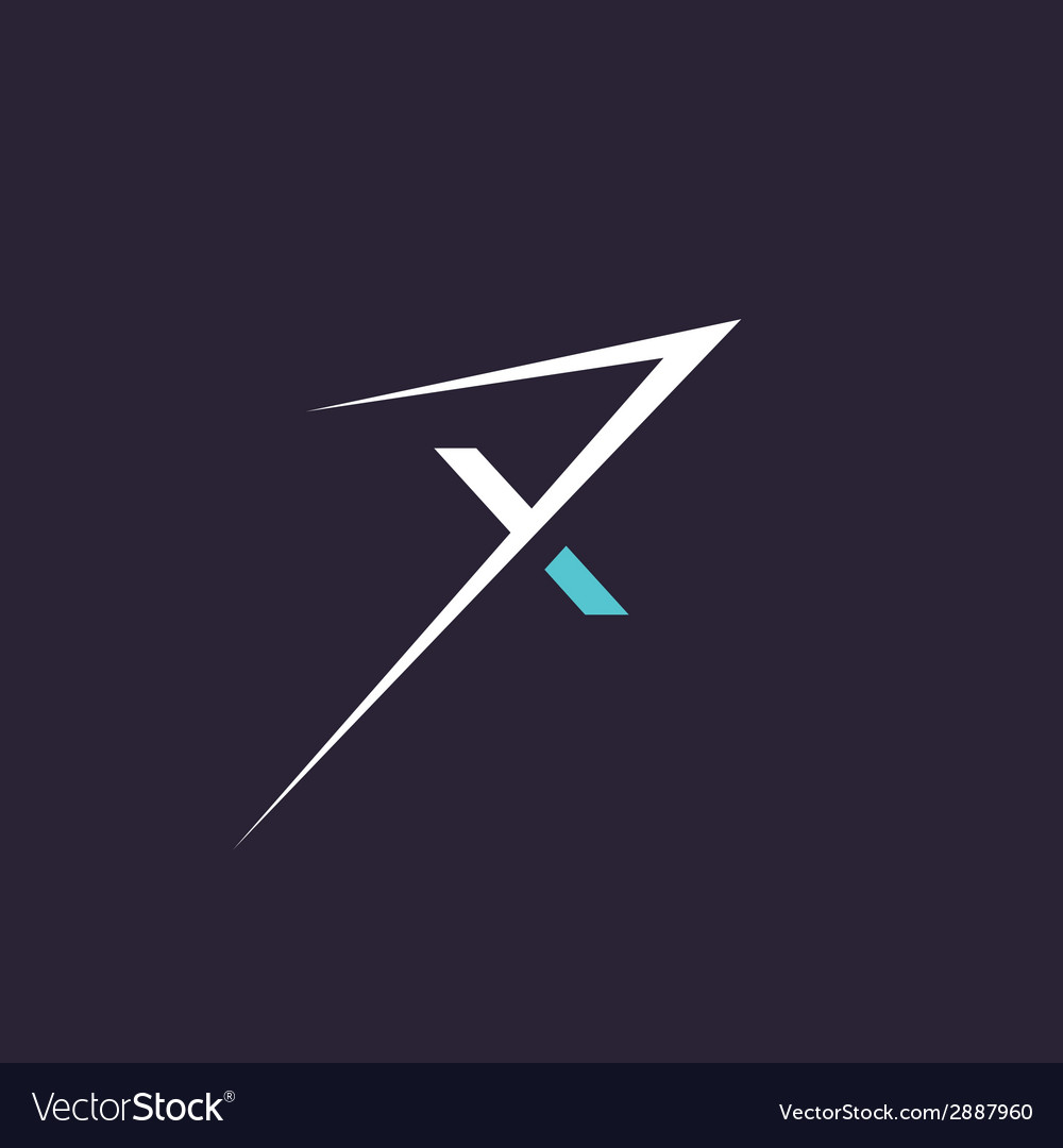 Sign of the letter x extreme sign vector | Price: 1 Credit (USD $1)