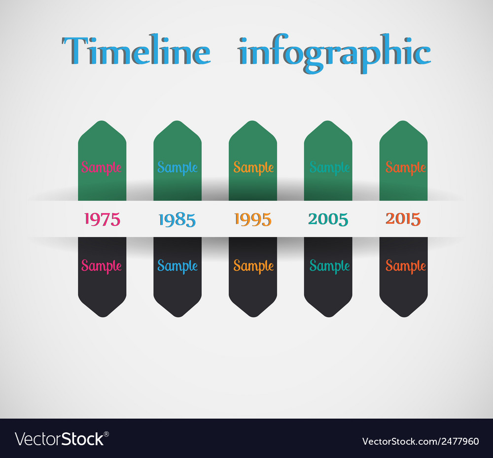 Timeline - different tooltips - infographic vector | Price: 1 Credit (USD $1)