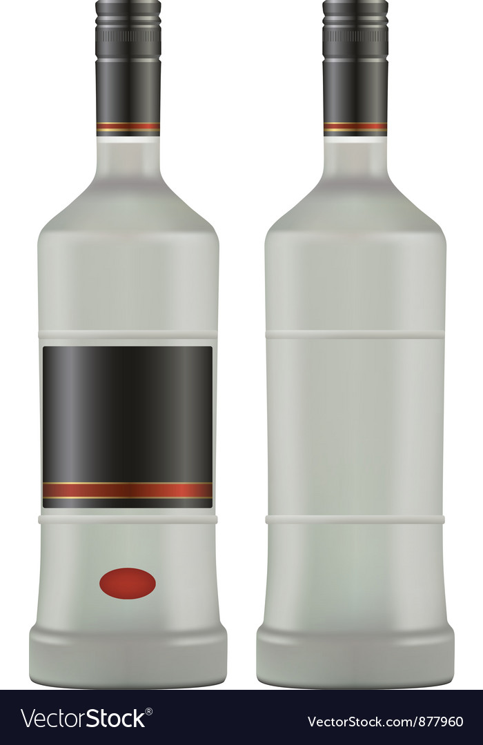 Vodka vector | Price: 1 Credit (USD $1)