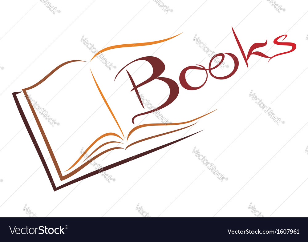 Book symbol vector | Price: 1 Credit (USD $1)