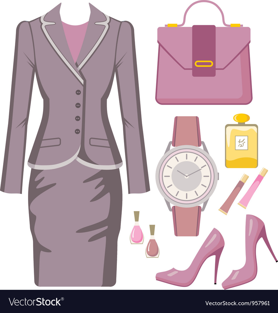Fashion set from a female sui vector | Price: 3 Credit (USD $3)