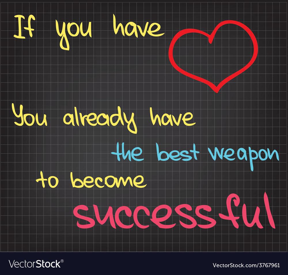 Success words vector | Price: 1 Credit (USD $1)