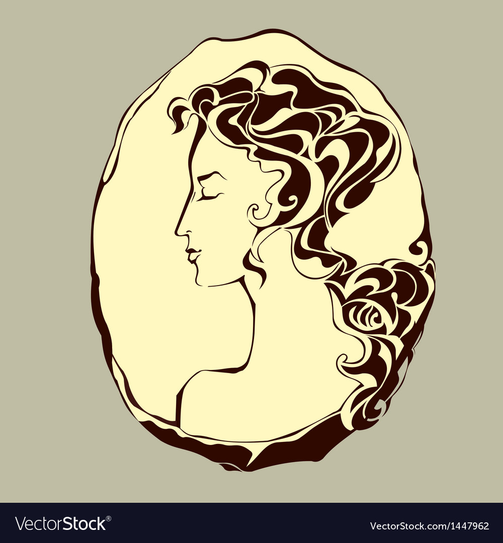 Cameo vector | Price: 1 Credit (USD $1)
