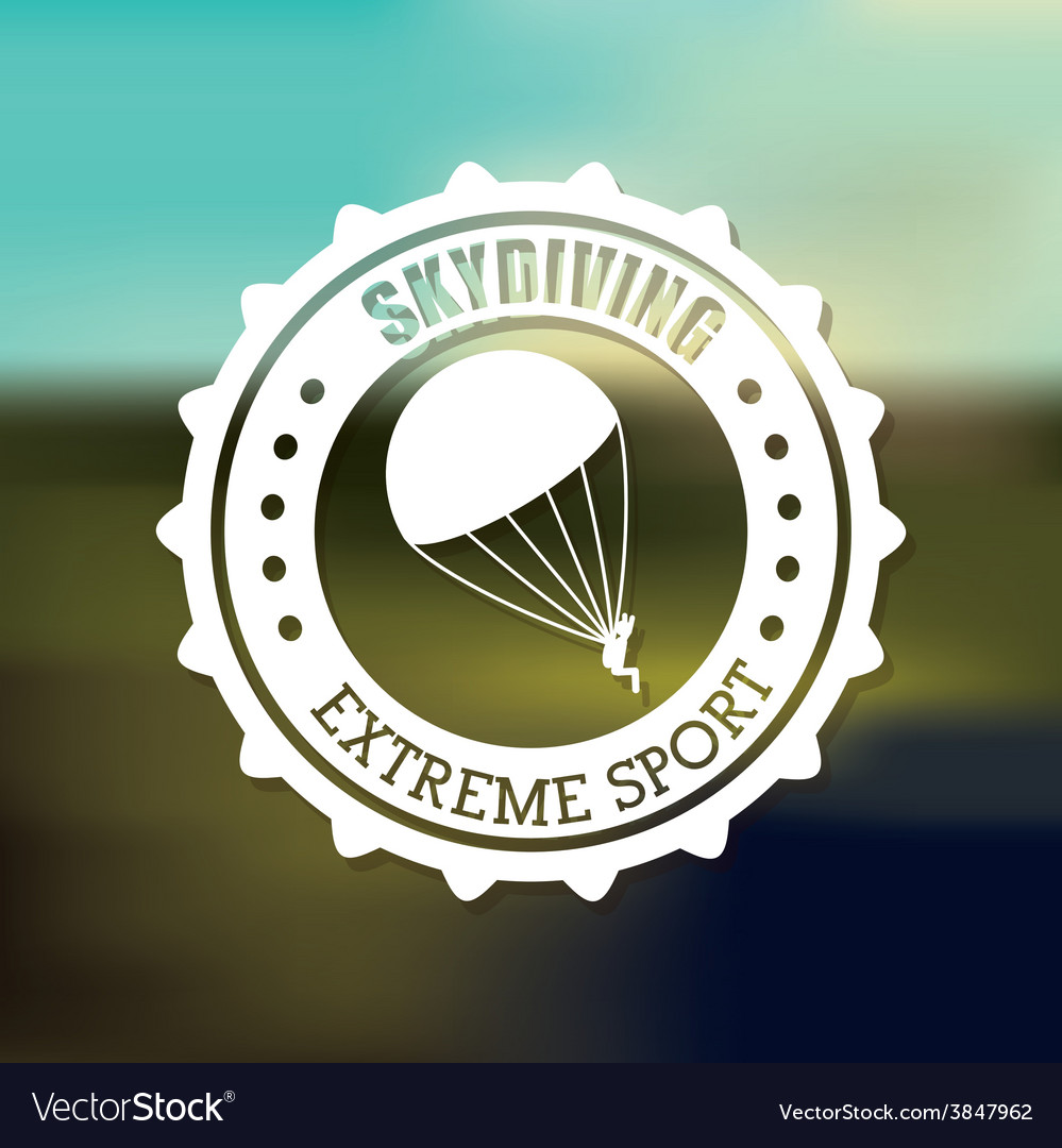 Extreme sports design vector | Price: 1 Credit (USD $1)