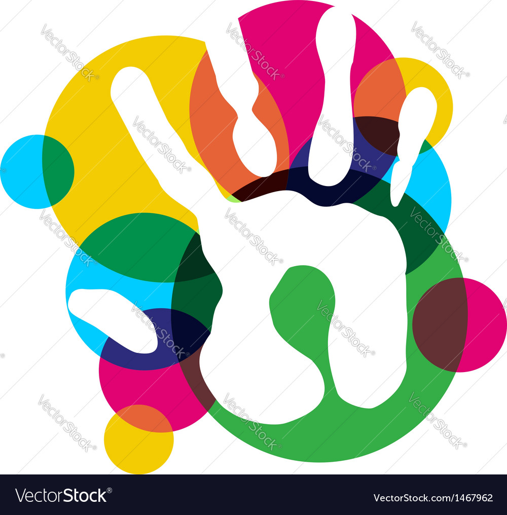 Multicolor diversity hand vector   Price: 1 Credit (USD $1)