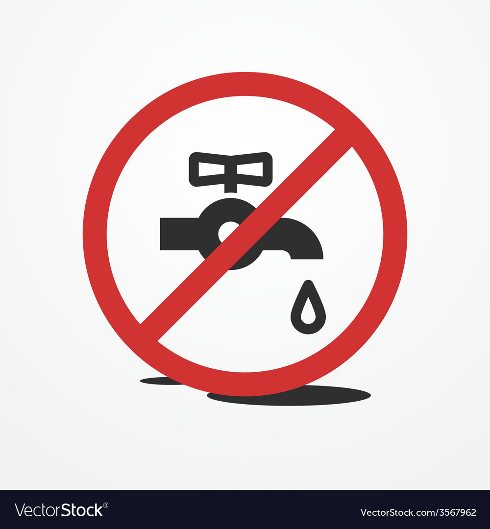 Water leak vector | Price: 1 Credit (USD $1)