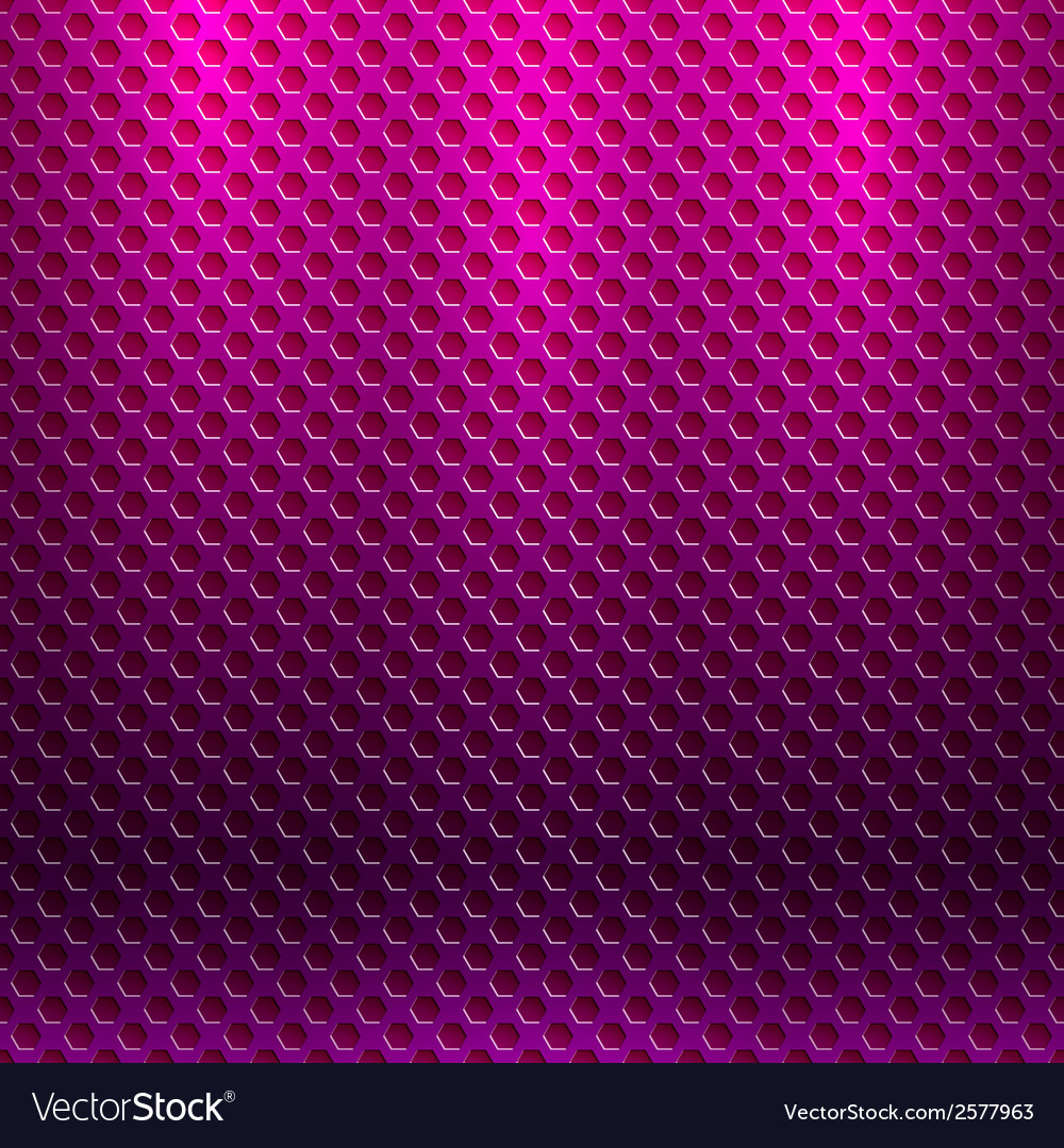 Abstract seamless metallic pattern with hexagon vector | Price: 1 Credit (USD $1)