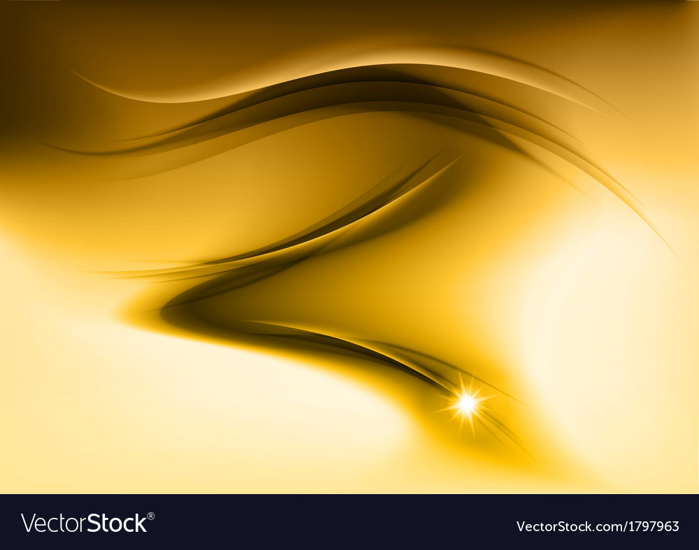 Abstract smoke gold vector | Price: 1 Credit (USD $1)