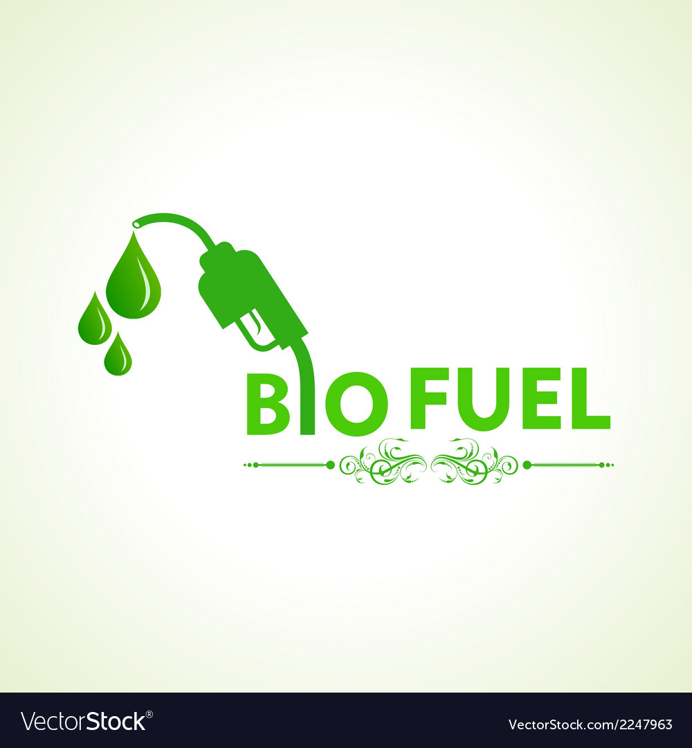 Bio fuel concept with nozzle vector | Price: 1 Credit (USD $1)