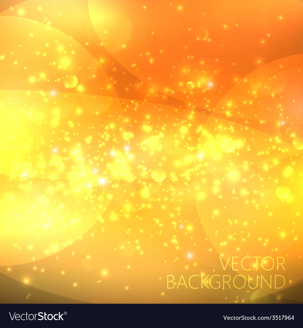 Golden sparkling background with glowing sparkles vector   Price: 1 Credit (USD $1)