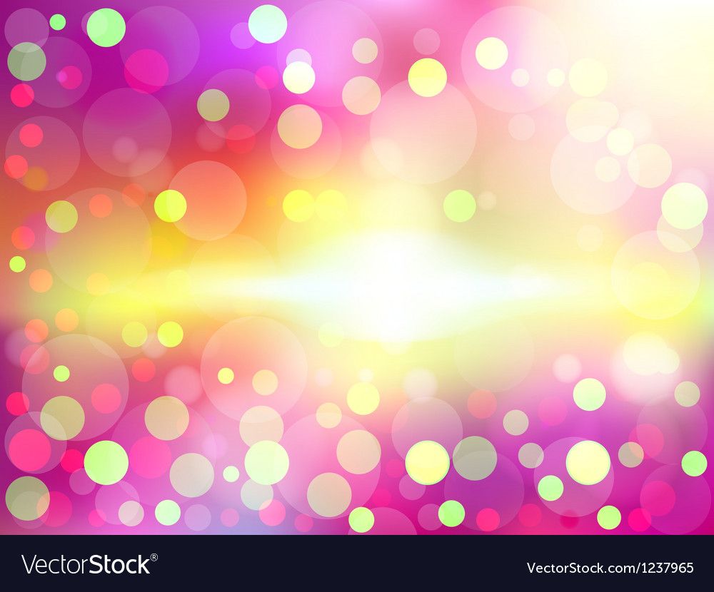 Colorful soft focus background vector | Price: 1 Credit (USD $1)