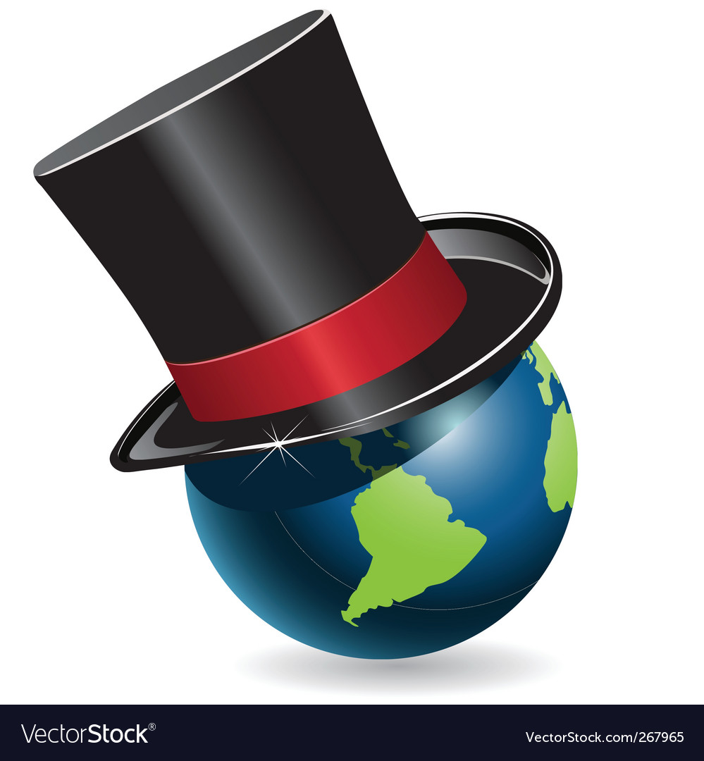 Globe in cylinder vector | Price: 1 Credit (USD $1)