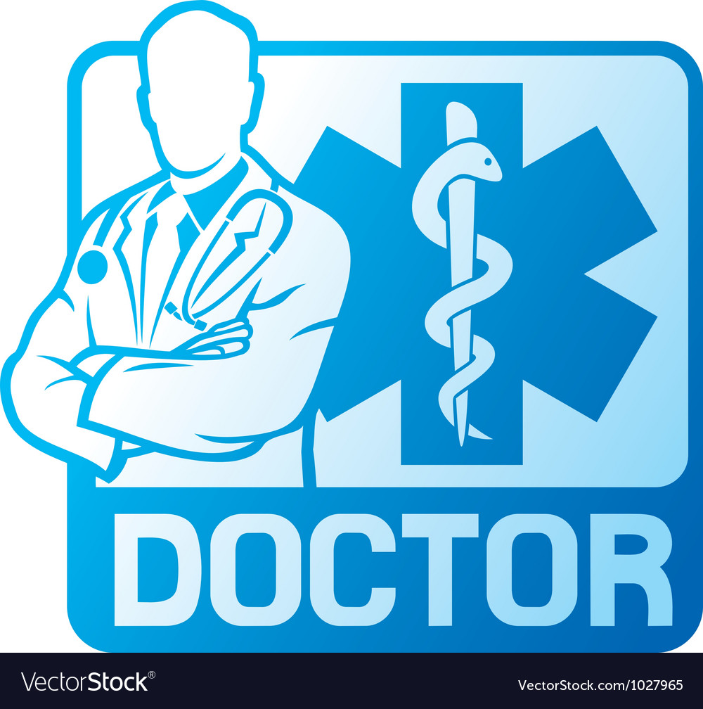 Medical doctor symbol vector | Price: 1 Credit (USD $1)