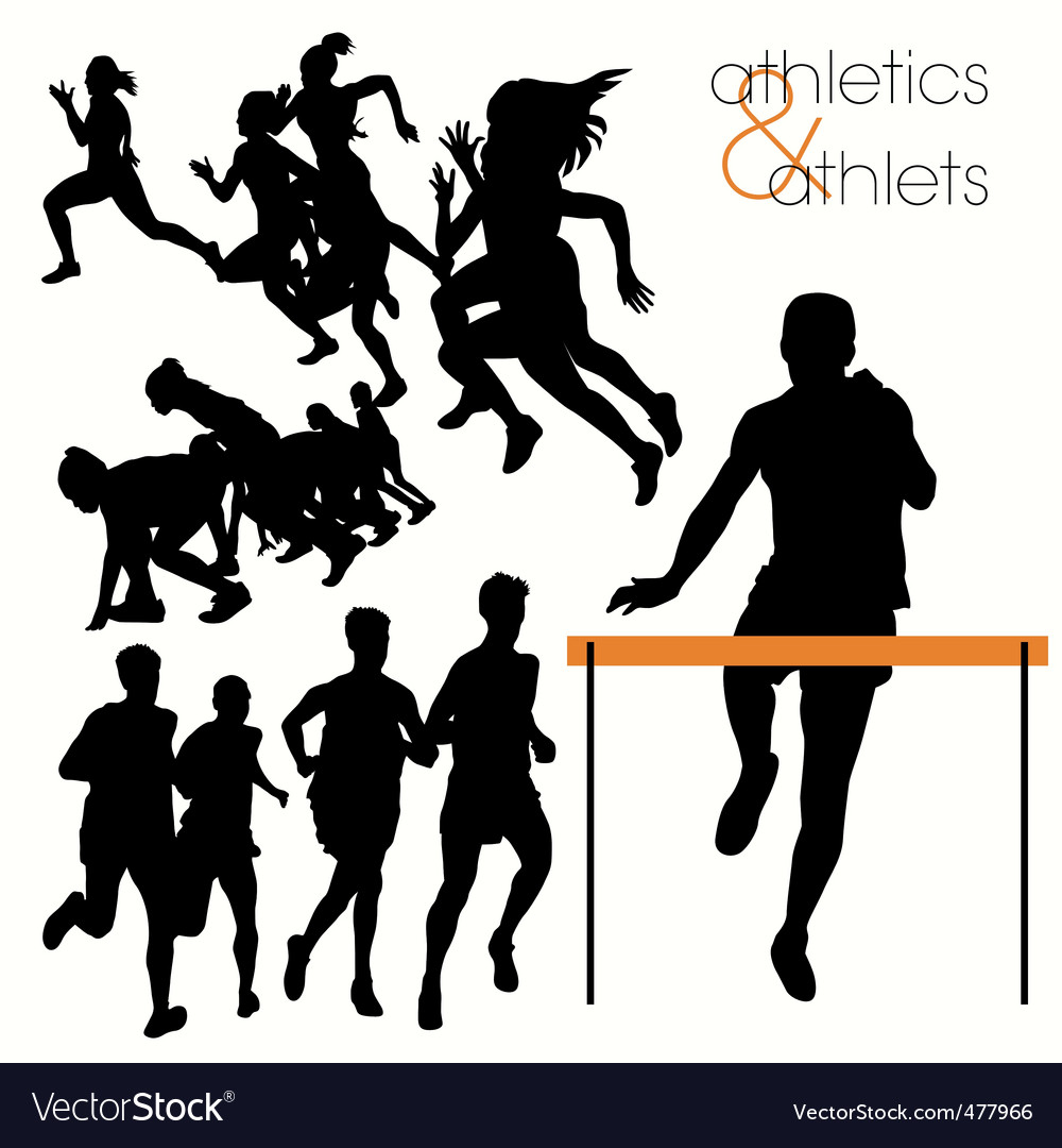 Athletics vector | Price: 1 Credit (USD $1)