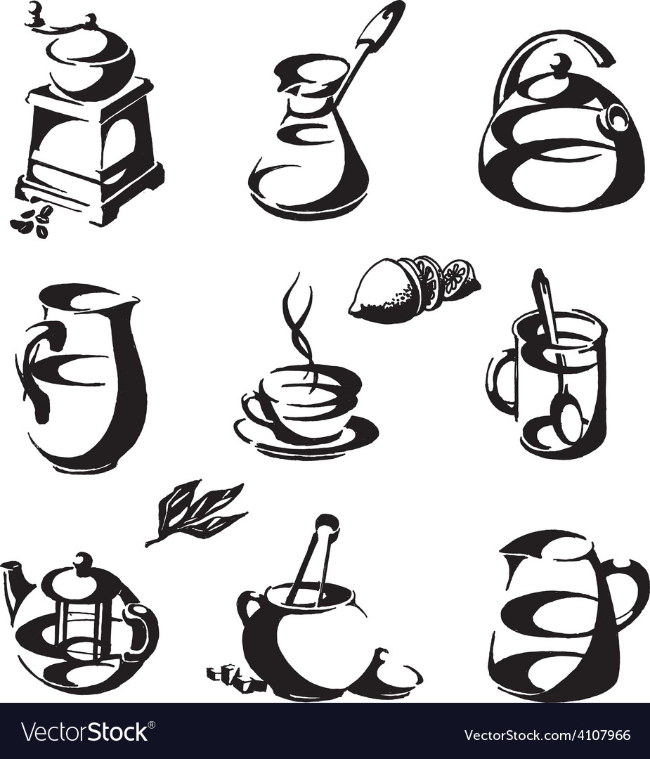 Coffee and tea logo design template cup or vector | Price: 3 Credit (USD $3)