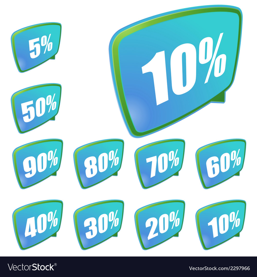 Discount labels set  eps8 vector | Price: 1 Credit (USD $1)