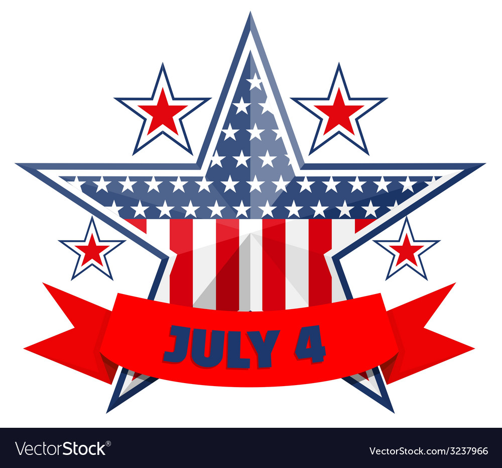 July 4 background vector | Price: 1 Credit (USD $1)
