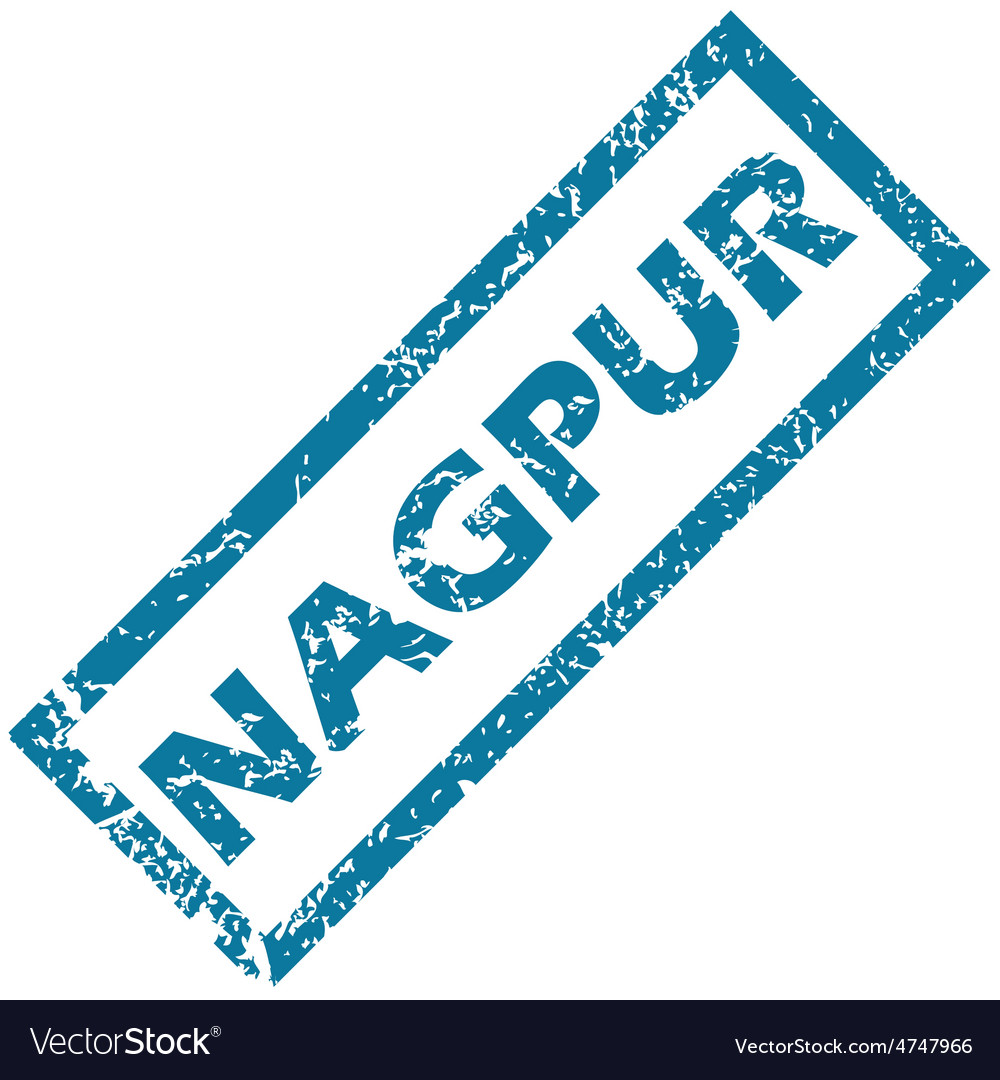 Nagpur rubber stamp vector | Price: 1 Credit (USD $1)