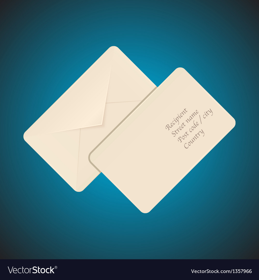 Post envelope vector | Price: 1 Credit (USD $1)