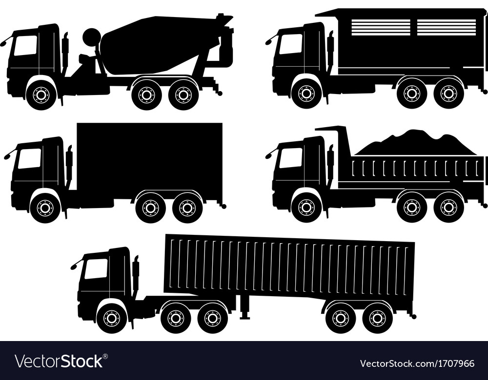 Truck vector | Price: 1 Credit (USD $1)
