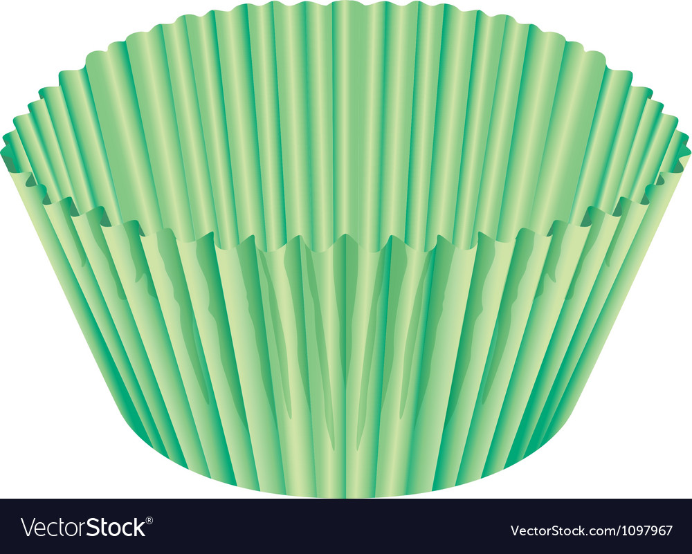 A green cup vector | Price: 1 Credit (USD $1)