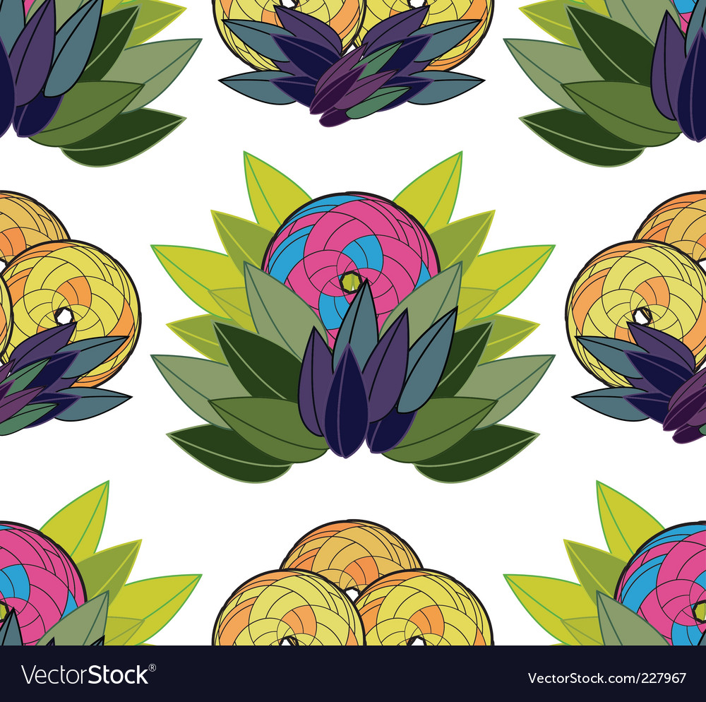 Exotic background vector | Price: 1 Credit (USD $1)