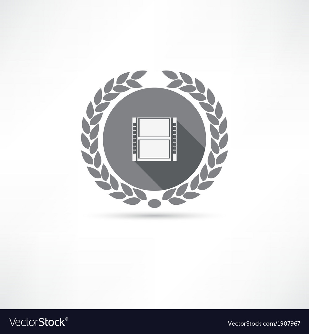 Reel of film icon vector | Price: 1 Credit (USD $1)