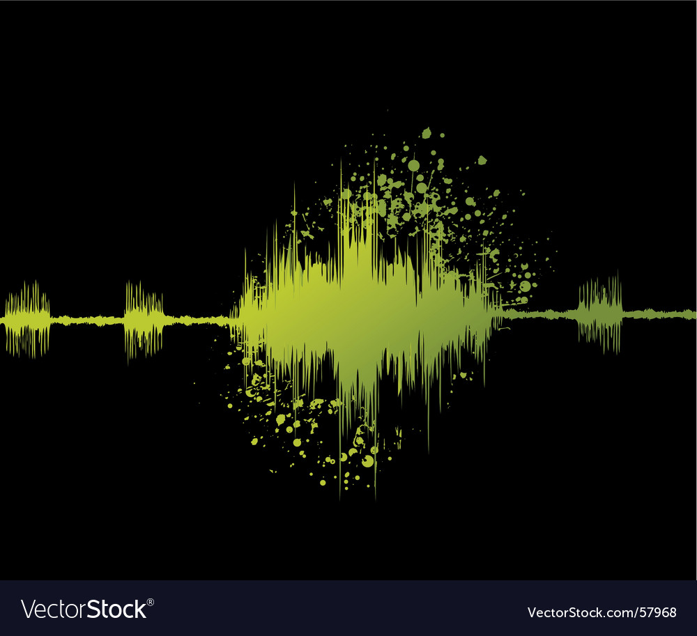 Audio graph vector | Price: 1 Credit (USD $1)