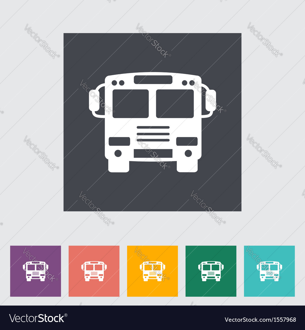 Bus vector | Price: 1 Credit (USD $1)