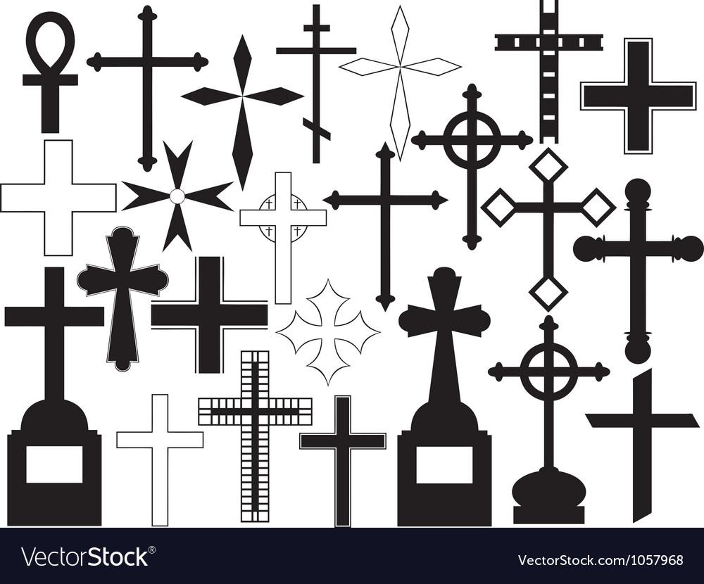 Cross set vector   Price: 1 Credit (USD $1)