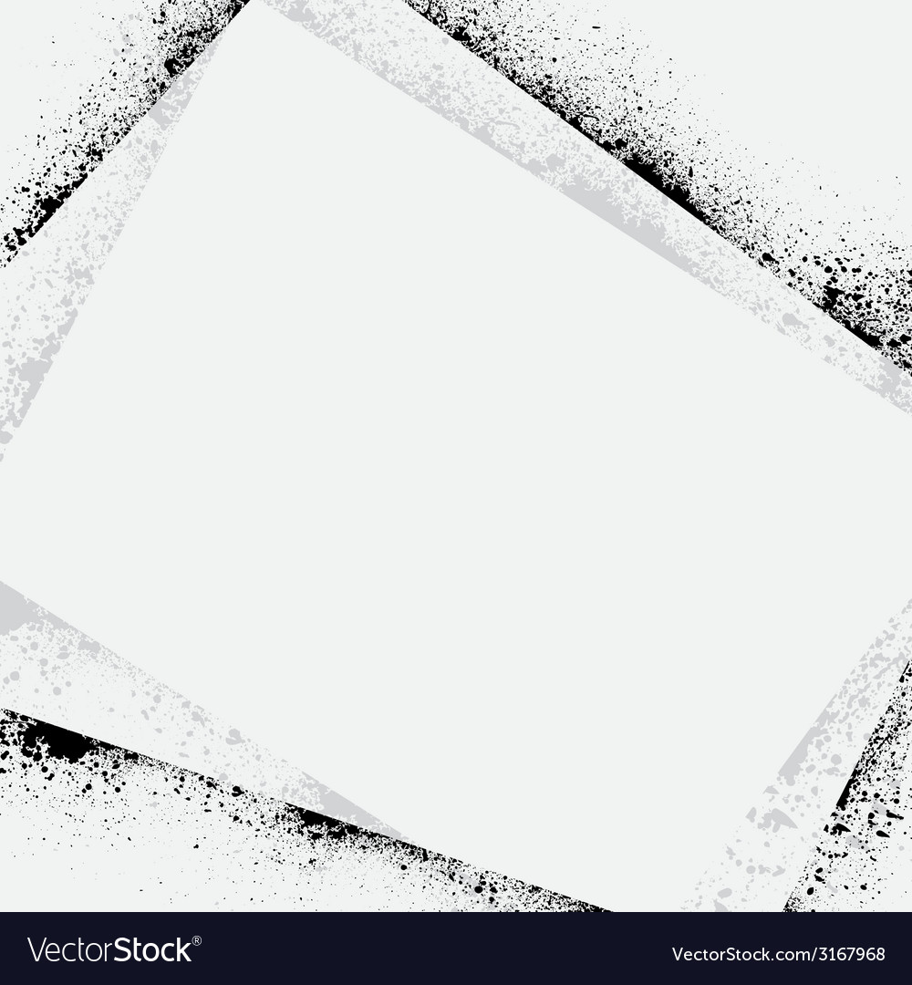 Ink blots frame shadow vector   Price: 1 Credit (USD $1)