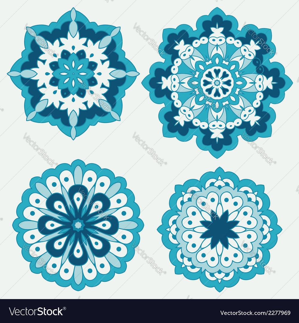 Arabesques decorative element vector | Price: 1 Credit (USD $1)