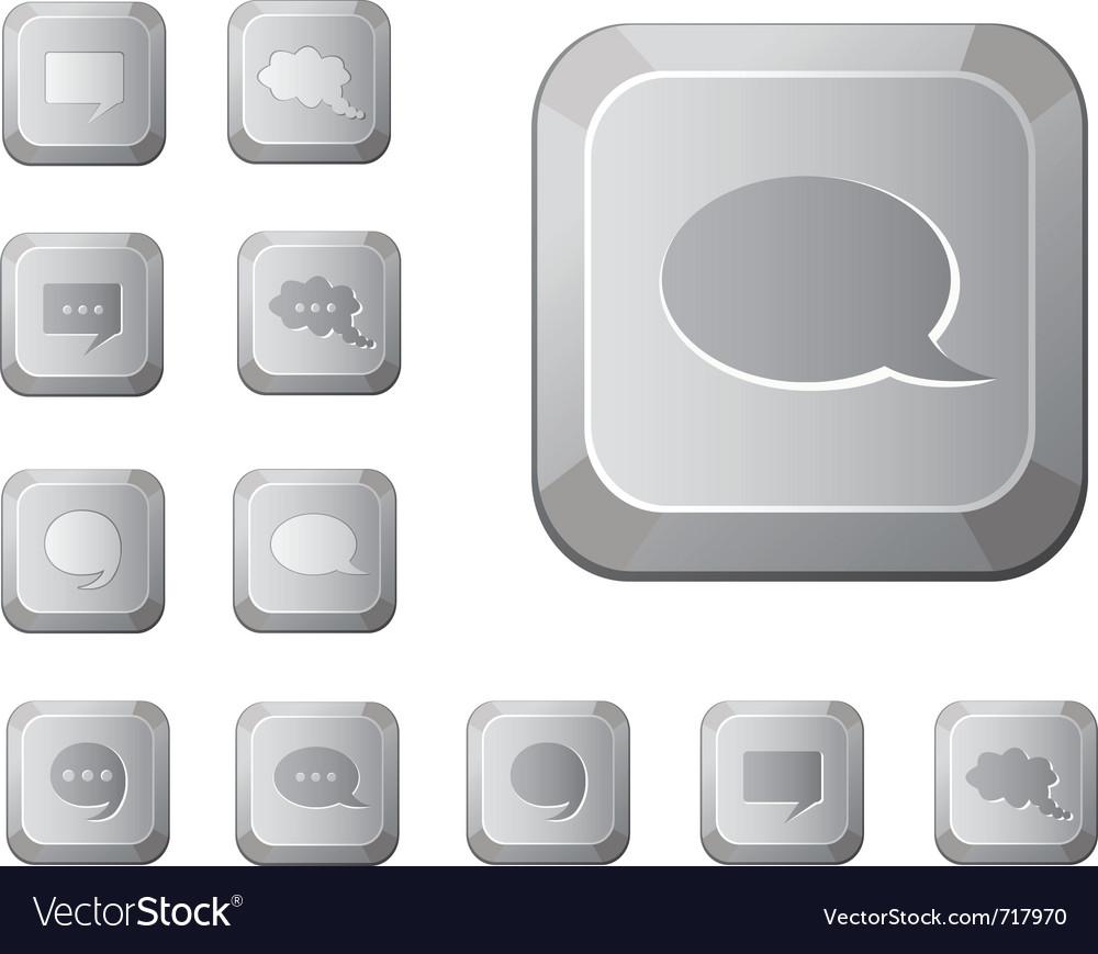 Computer key set vector | Price: 1 Credit (USD $1)