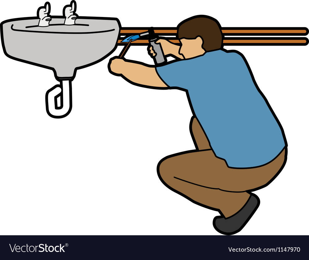 Plumber vector | Price: 1 Credit (USD $1)