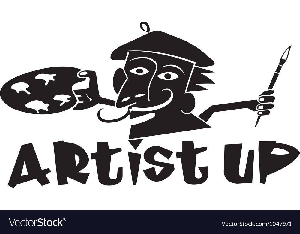 Artist up vector | Price: 1 Credit (USD $1)