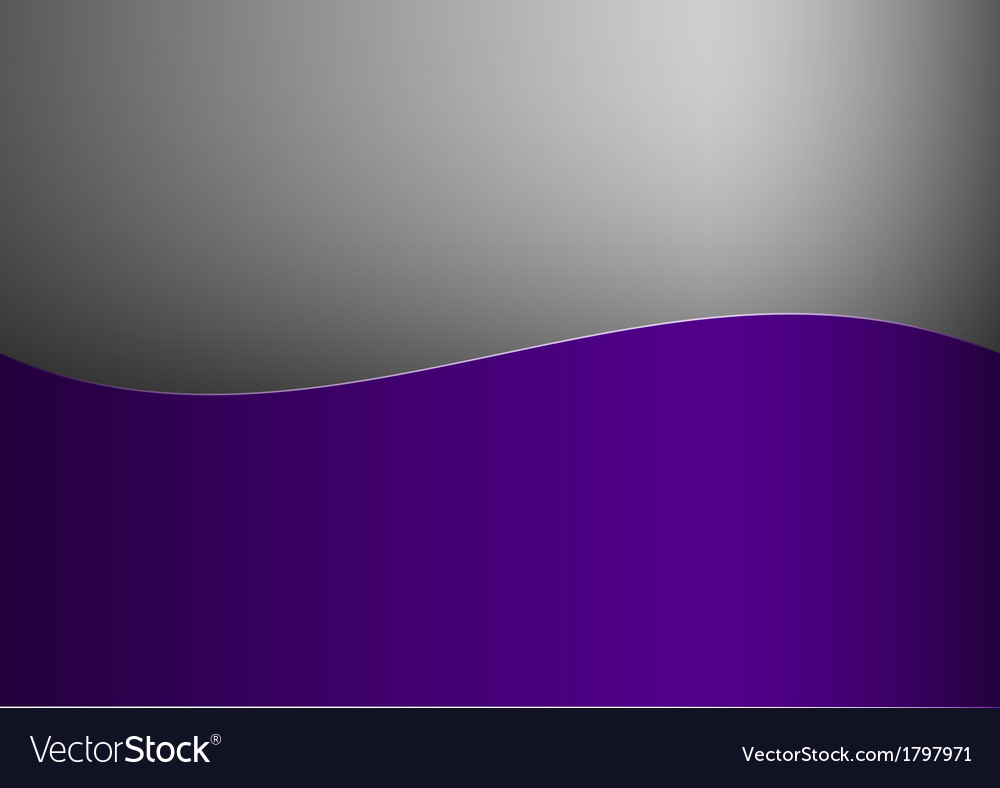 Background purple stripe wave one grey vector | Price: 1 Credit (USD $1)