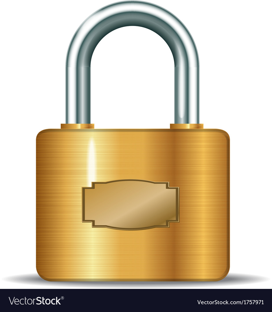 Closed padlocks vector | Price: 1 Credit (USD $1)