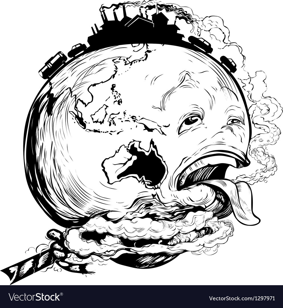 Save our earth vector | Price: 1 Credit (USD $1)