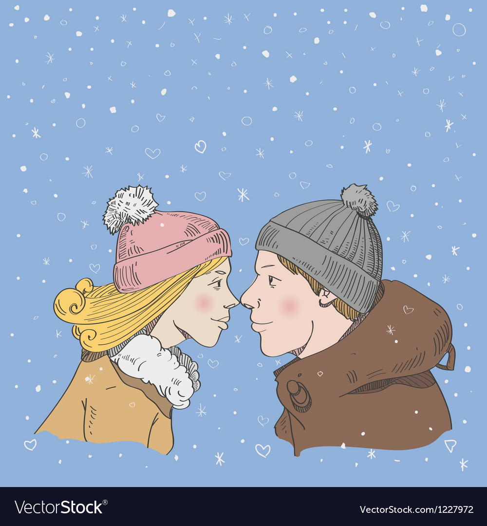 Romantic couple vector | Price: 1 Credit (USD $1)