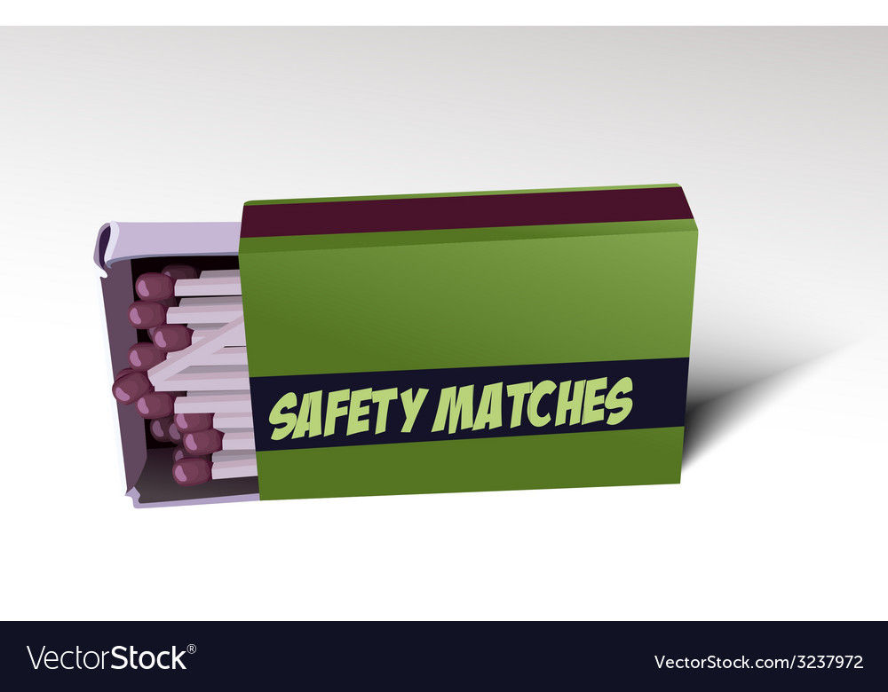 Safety matches vector | Price: 1 Credit (USD $1)