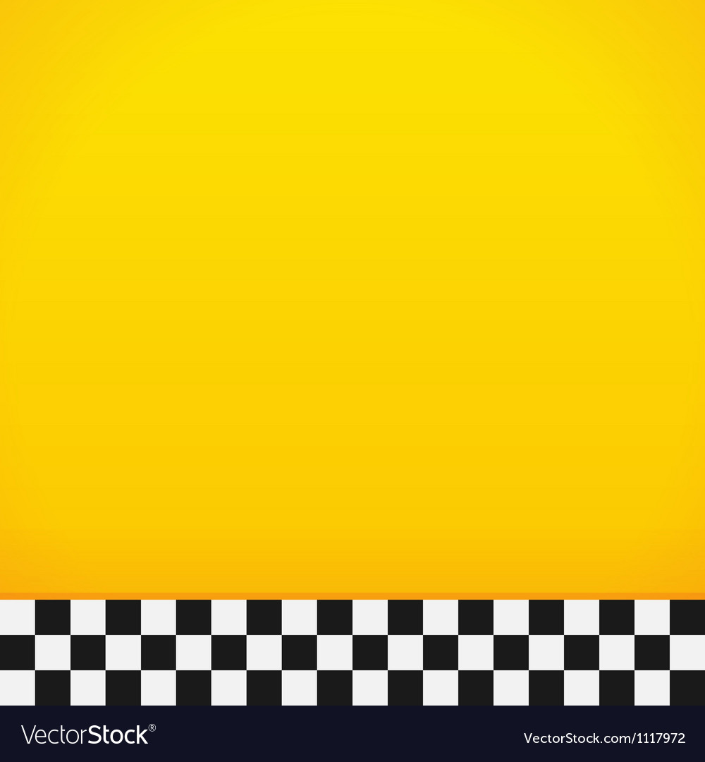 Taxi checkerboard pattern vector | Price: 1 Credit (USD $1)