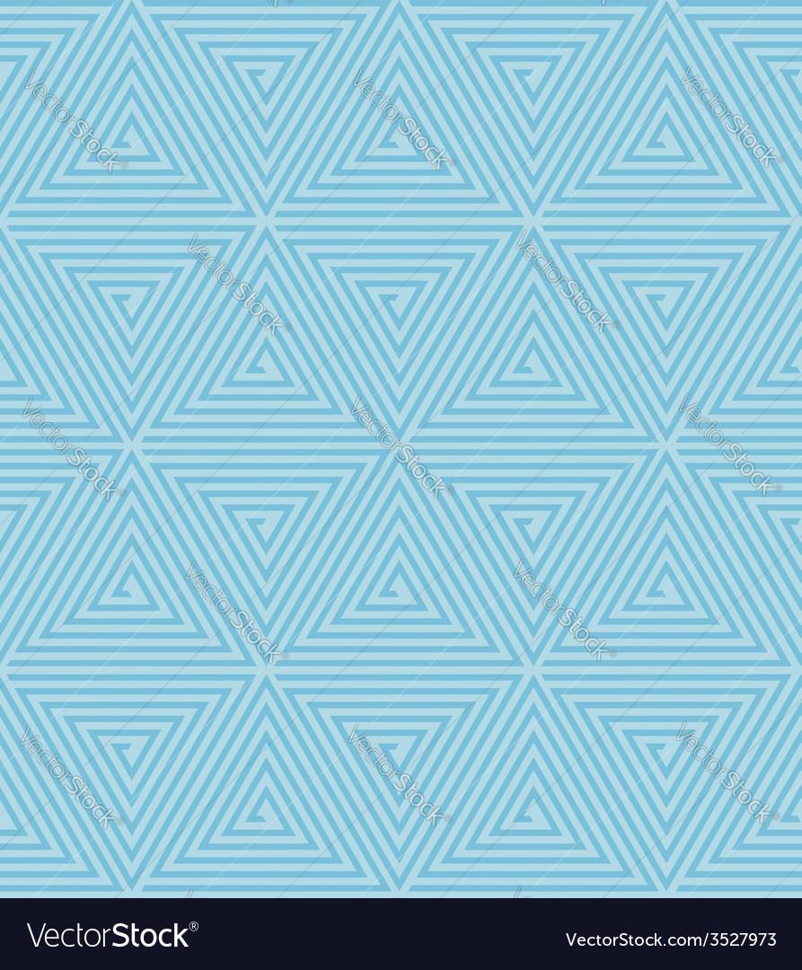 Seamless geometric retro pattern vector