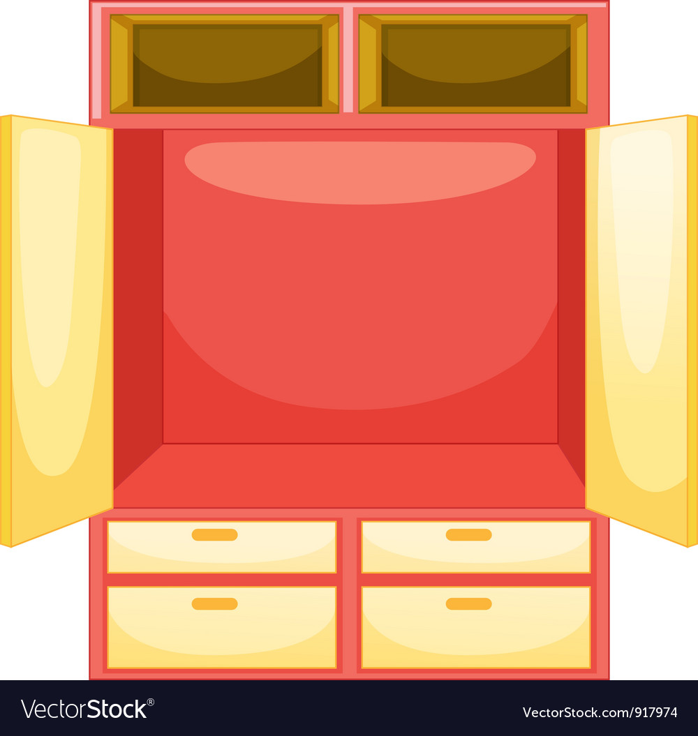 Mpty wardrobe vector | Price: 3 Credit (USD $3)
