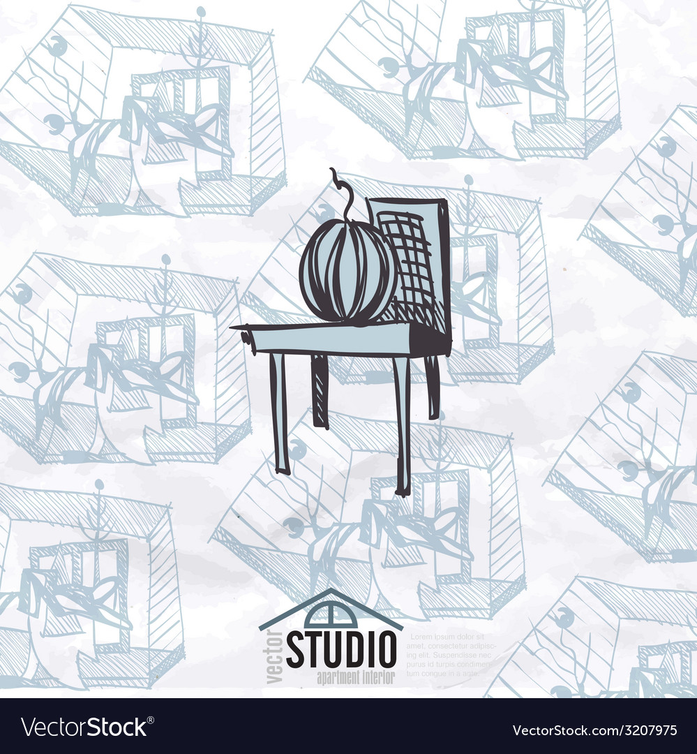 Creative abstract interior design vector   Price: 1 Credit (USD $1)