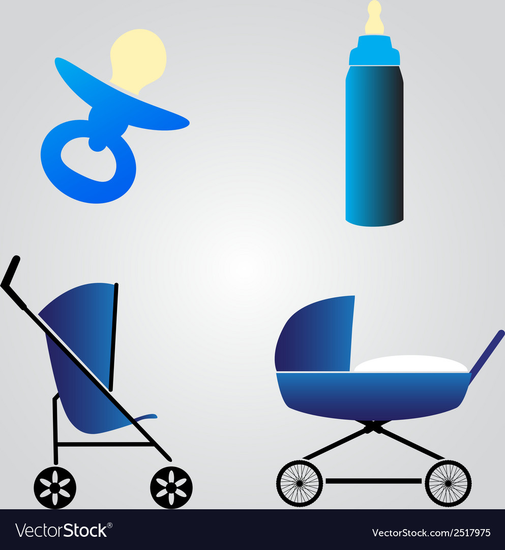 Equipment for baby eps10 vector | Price: 1 Credit (USD $1)