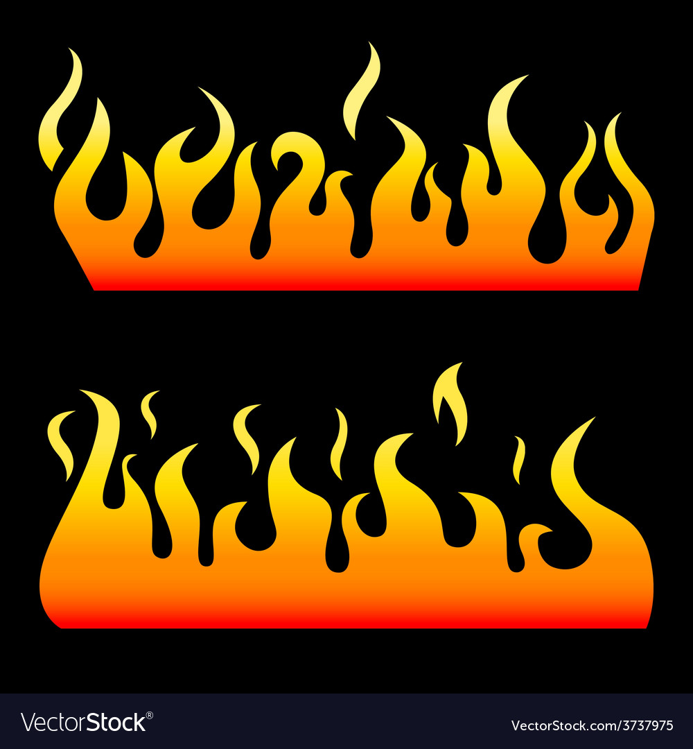 Fire elements vector | Price: 1 Credit (USD $1)